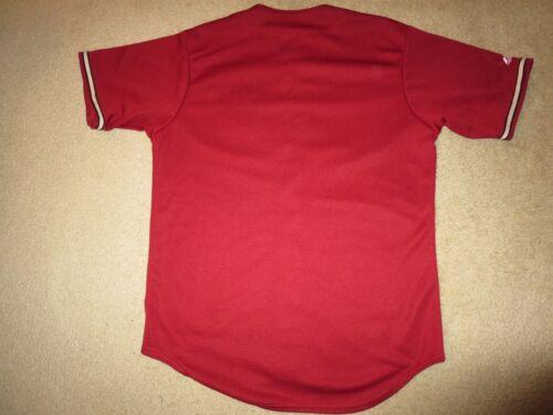 Arizona Rosso Sm Majestic Diamondbacks Nuovo Mlb Small S Maglia wUPBqCw