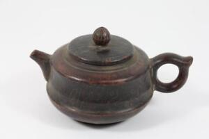Teekanne-Keramik-signiert-China