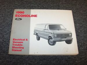 1990 ford truck bronco econoline shop service repair manual cd | ebay.