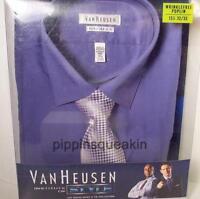 Men's Van Heusen Dress Shirt And Tie Collection Regular Fit Lavender