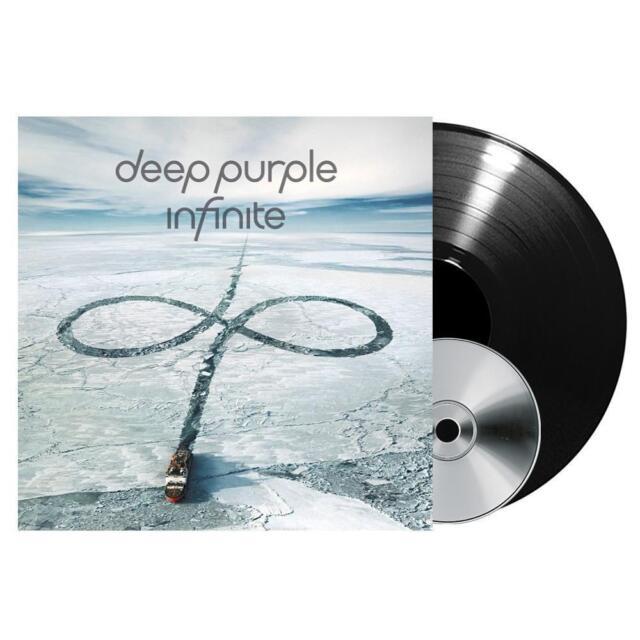 DEEP PURPLE INFINITE DOPPIO VINILE LP + DVD NUOVO SIGILLATO !