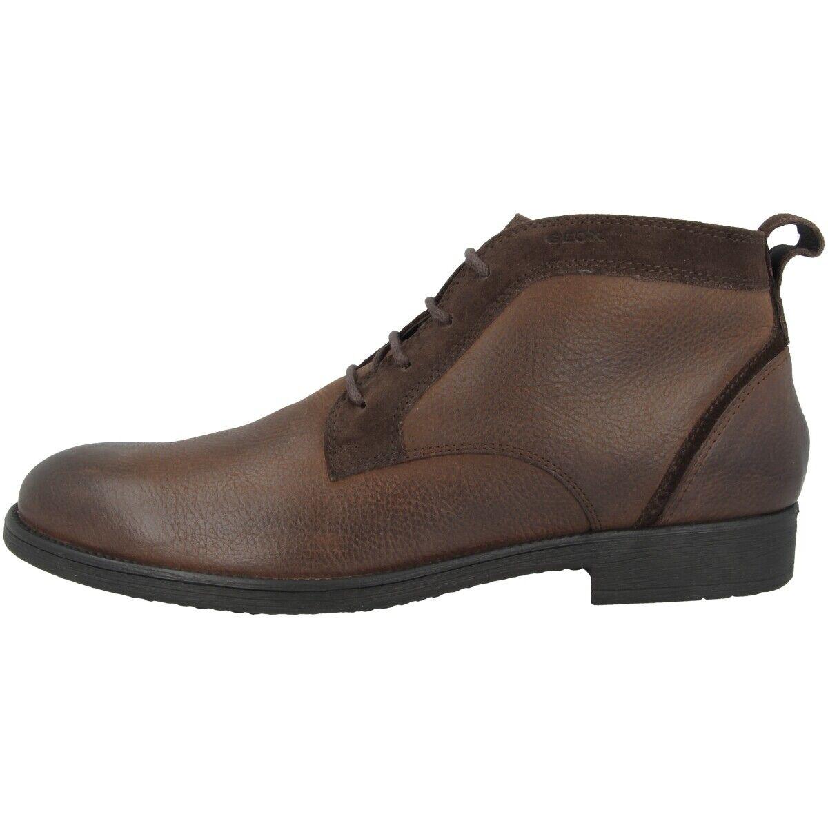 GEOX U Jaylon D Schuhe Men Stiefeletten Stiefel Stiefel coffee U94Y7D04623C6024