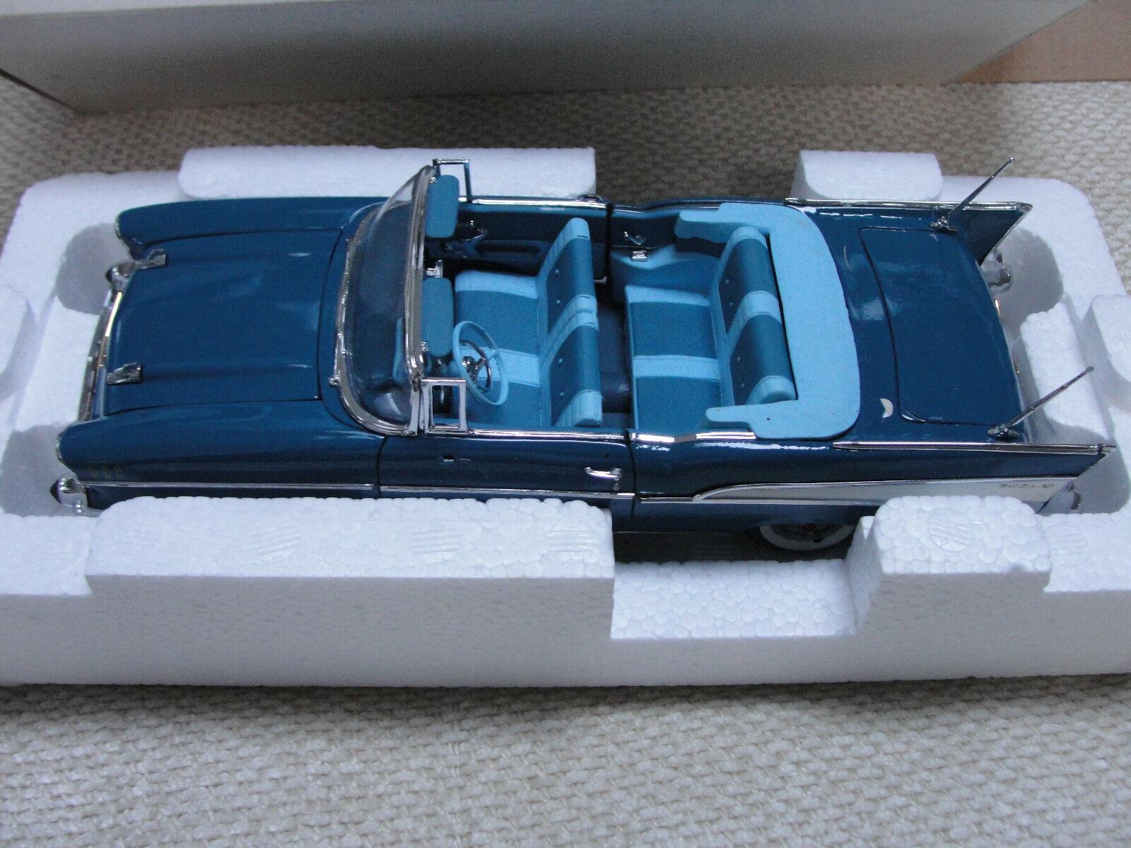 The Danbury Comme neuf Bleu Bel Air Chevrolet 1957-avec boite