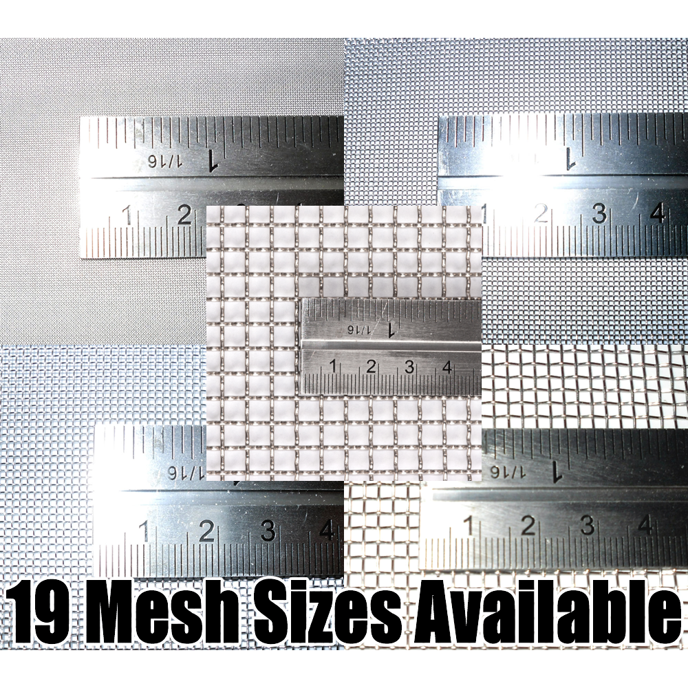 Beyondsupply-75 Micron Stainless Steel Woven Wire 200 Mesh 316l Filter Filtration Oil Screen 12x36