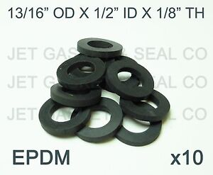 BEER NUT WASHERS 10-PACK DRAFT BEER FITTINGS SHANK GASKET MADE IN THE USA! EPDM