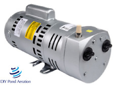 New Gast Easypro 45cfm 14hp Oilless Vacuum Pump Rotary Vane Compressor
