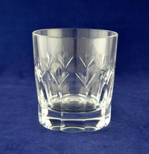 "Tall 3-5//8″ 9.1cms Stuart Crystal ""VALENCIA"" Whiskey Glass"
