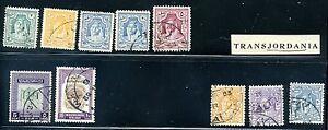 Lot of 10 Jordan Middle East Stamps