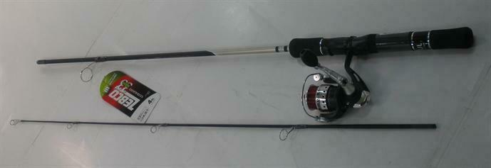 Zebco 33MS502UL 33 Micro Spinning Barra y Cocherete Combo 19479