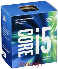 Intel 7th Gen Core i5-7400 Processor LGA1151 (6M Cache, up to 3.50 GHz)