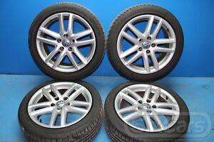 4x-Komplettrad-225-45-ZR17-94W-Alufelge-Loch-5x112-7-5Jx17-3C0601025R-VW-Golf-V