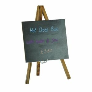 Image Is Loading Packs Small Chalkboard Table Top Easel Chalk Board