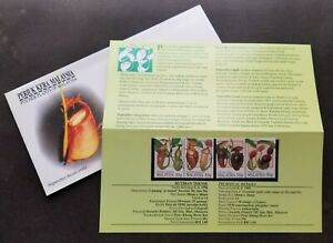 SJ-Malaysia-Pitcher-Plants-1996-Tropical-Flora-Flowers-Forest-p-pack-MNH