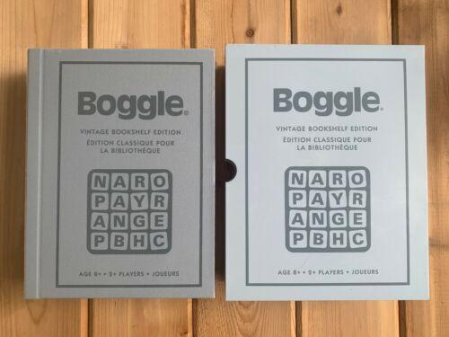 Fabric//Linen Box Retro Style NEW//SEALED Vintage Bookshelf Edition BOGGLE GAME
