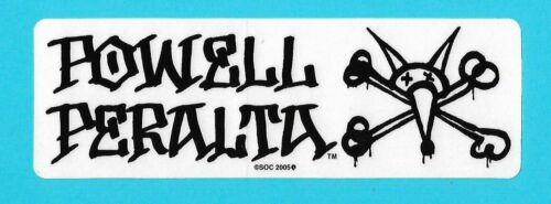"""2 Variations NEW Powell Peralta Vato Rat Bones Skateboard Sticker 7/"""" x 2.5/"""""""
