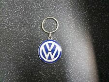 Vehicle Parts & Accessories Vw Keyring Blue And White Genuine Product