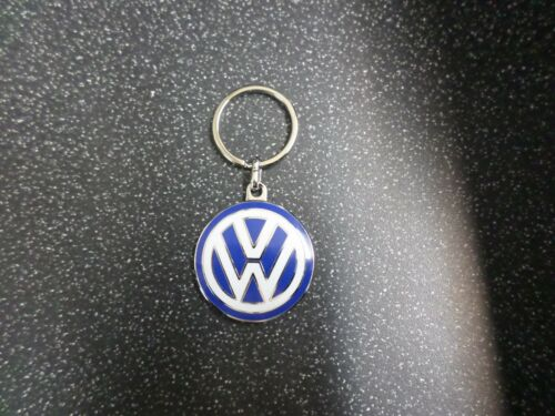 Genuine VW volkswagen keyring 37mm blue and white GTI G60 TDI R 000087010C