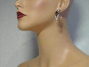 Image Is Loading Alexis Bittar Gold Miss Havisham Pyrite Doublet Hoop