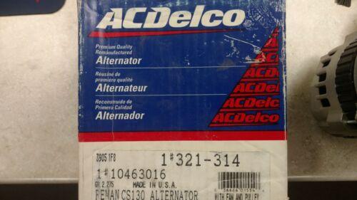 Alternator ACDelco GM Original Equipment 321-314 Reman