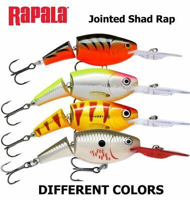 viele Farben Rapala Wobbler Jointed Shad Rap 4cm JSR04