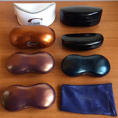 Buono Fodero Occhiali Da Sole Roberto Just Cavalli Box Scatola Sunglasses Custodia Sconto Online