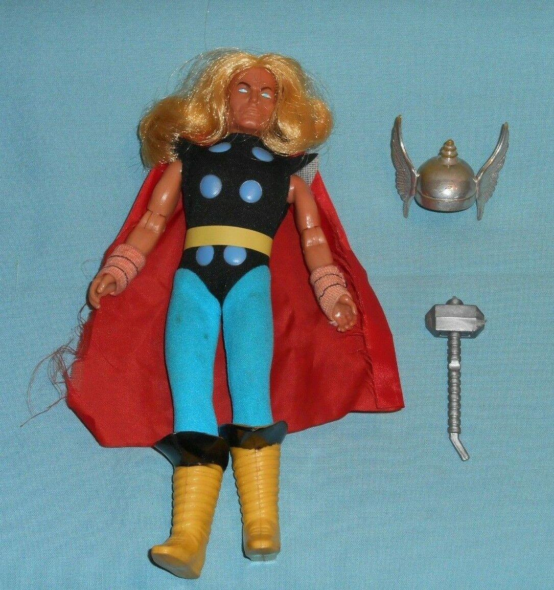 Vintage Original Mego el mayor súper-Héroes WORLD WGSH Martillo de Thor  2 Casco