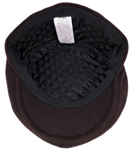 Flatcap Herren Schlägermütze Schiebermütze Cap Mütze Kappe Gatsby Schirmmütze