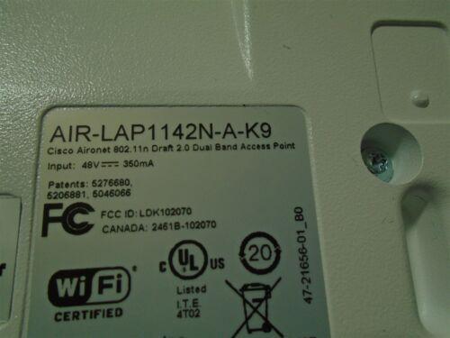 *No AC Adapter* 5x Cisco Aironet  1140  AIR-LAP1142N-A-K9 Lot of