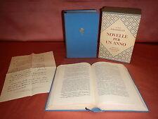 Pirandello Luigi NOVELLE PER UN ANNO Ed. Mondadori 1959 Classici Contemporanei