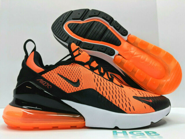 Nike Air Max 270 Black Red White Spectrum Men's Women's Running Shoes NIKE006624