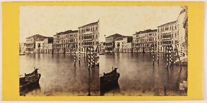 Venezia-Palais-Rezzo-Italia-Foto-Stereo-Th1L6n16-Vintage-Albumina-c1865