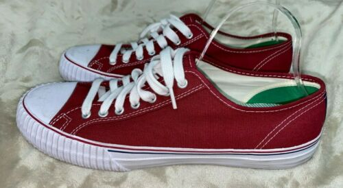 PF FLYERS Mens' Dark Red Sneakers Shoes Size 13
