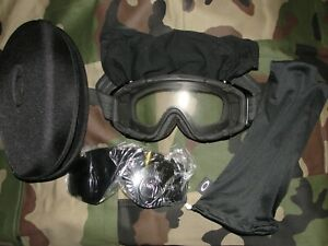 Masque-balistique-Oakley-SI-HDO-Ballistic-goggle-array-clear-grey-z87-NEUF