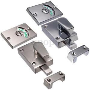 Image is loading Bathroom-Toilet-WC-Indicator-Privacy-Dead-Bolt-Door-  sc 1 st  eBay & Bathroom Toilet WC Indicator Privacy Dead Bolt Door lock Vacant ...