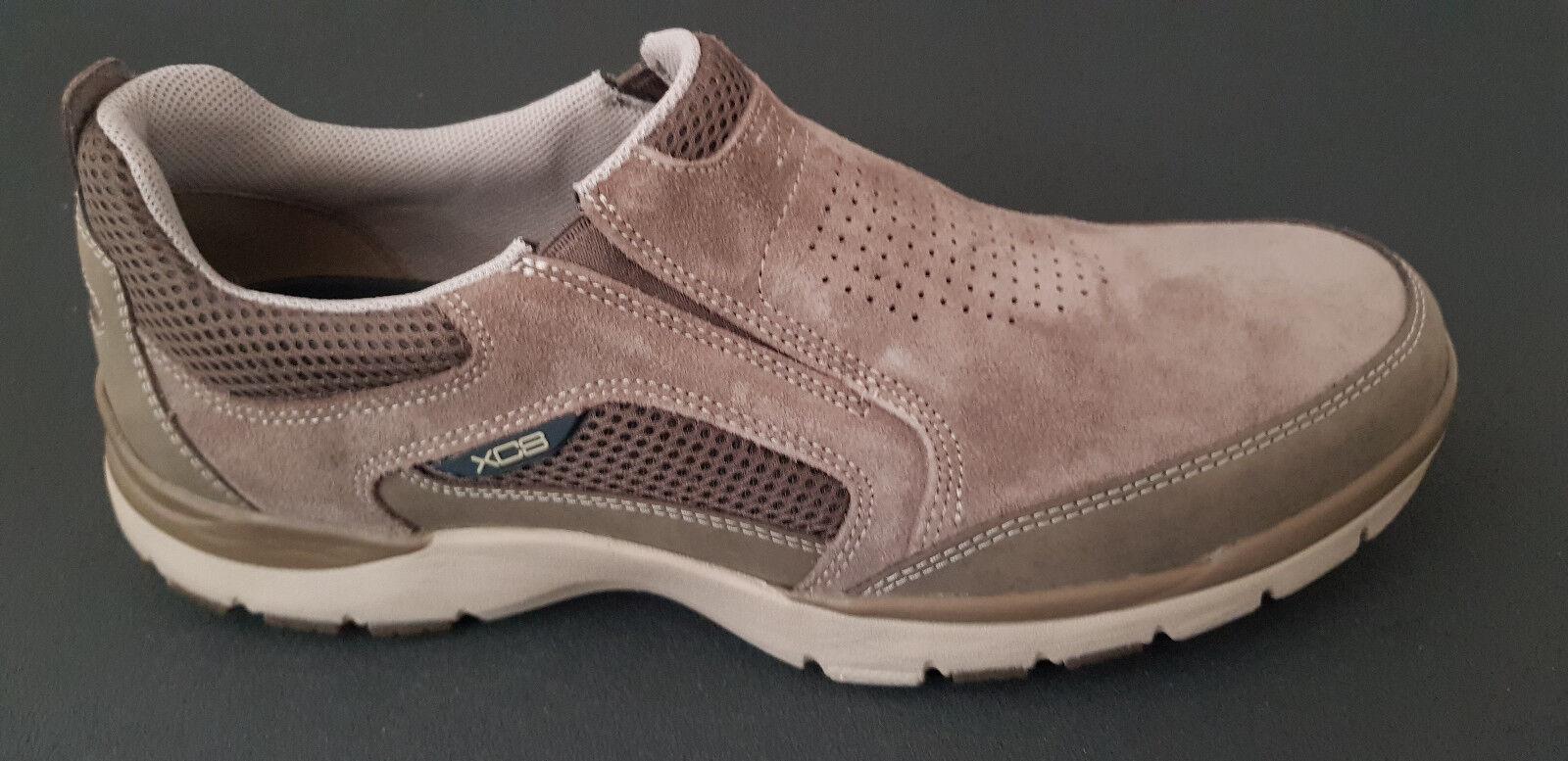 Rockport Da Uomo Sneakers loafer Nuovo Comfort Slipper Scarpe Stone Nuovo loafer abbe98