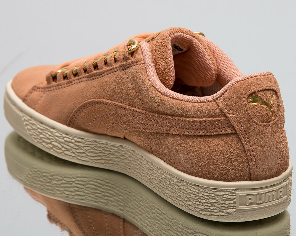 Puma Chain Wmns Suede Classic x Chain Puma Femme New Coral Lifestyle Sneakers 367352-01 827129