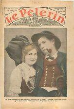 Portrait Couple Alsaciens Costume dAlsace Elsass Défilé Haguenau Bas-Rhin  1933