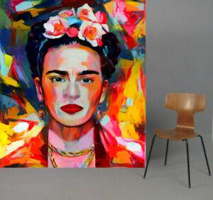 Motiv-Frida-Kahlo-Portrait-XXL120x139-cm-Arcylglas-5-mm-PopArt-Poster-StreetArt