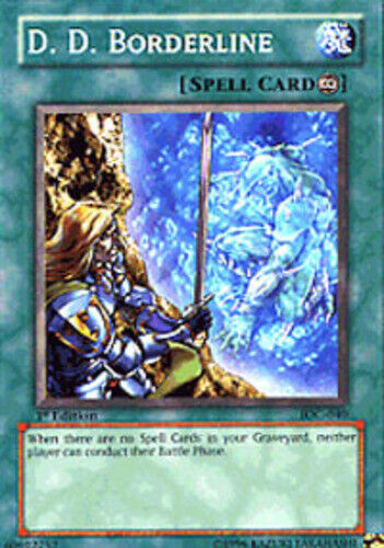 IOC-040 LP D.D Common Borderline Unlimited Edition Lightly Played Yugioh