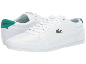Uomo-Scarpe-Lacoste-EVARA-119-1-CMA-Fashion-Scarpe-da-ginnastica-37CMA0034O82-Bianco-Verde