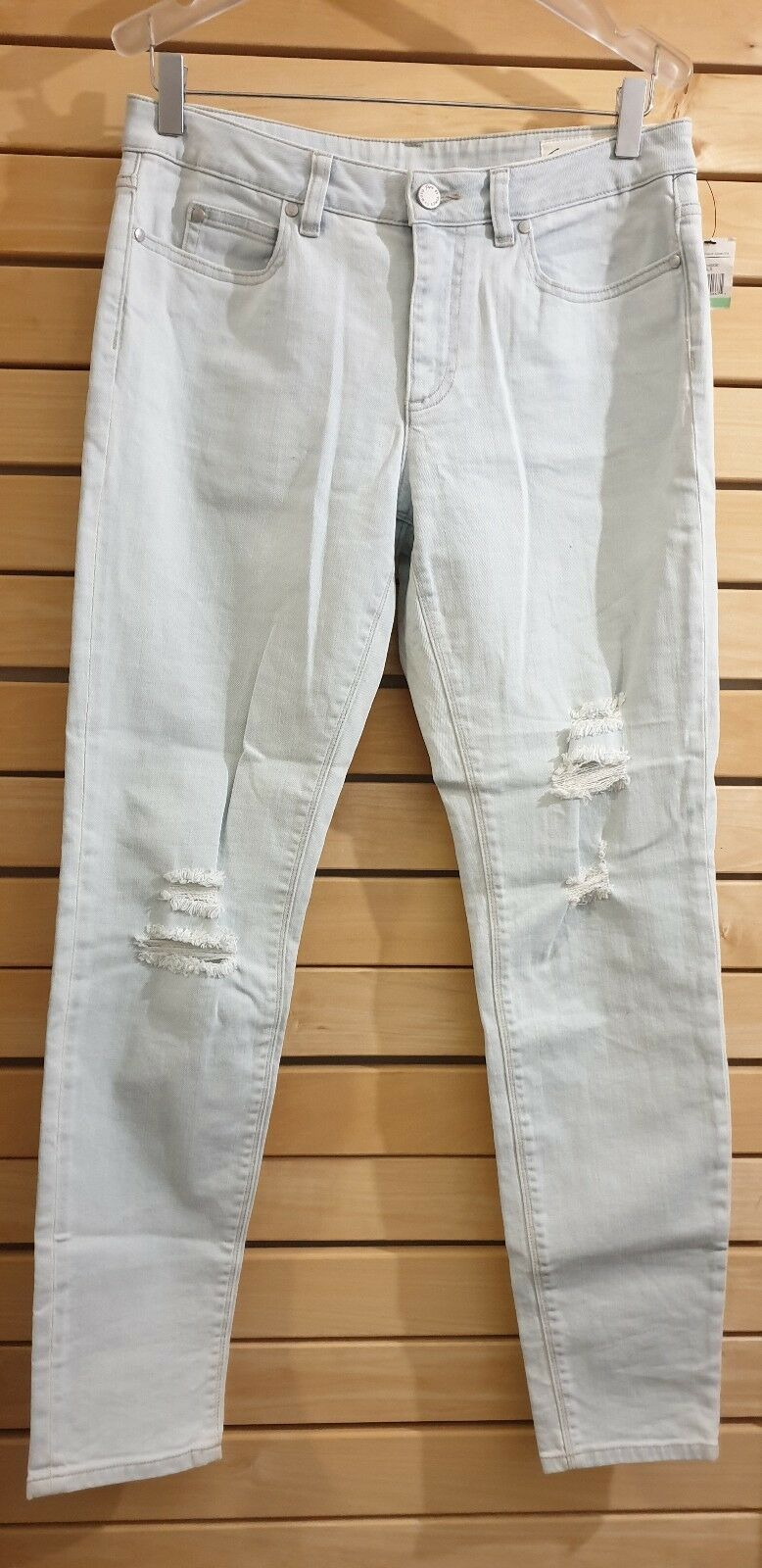 TWO BY VINCE CAMUTO Women's Jean Beachside Essentials Straight Size 29 8 New
