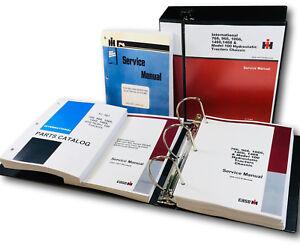 Parts manual hydro 100 766 966 1066 1466 1468 international 766.