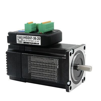 iHSS57-36-10 JMC Nema 23 1Nm DC36V Integrated Closed Loop Stepper motor driver
