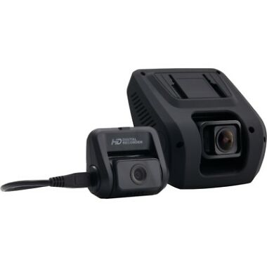 Rexing V1LG Dual Channel FHD Car Dash Cam w/Recorder