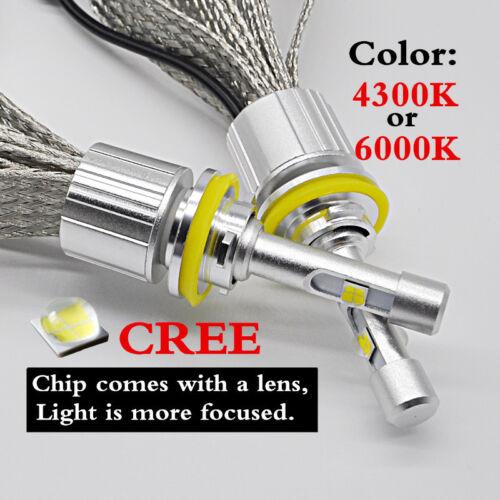 CREE XHP50 H1 H4 H7 H11 D1SD2S Car LED Headlight Bulb 104W 12000LM Auto lamp kit