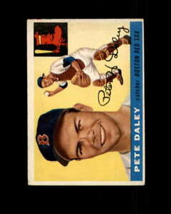 Pete-Daley-Rookie-Card-1955-Topps-206-Boston-Red-Sox
