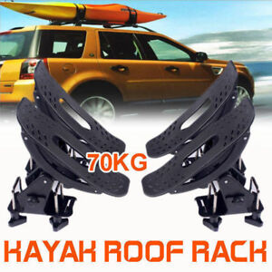 Universal Kayak Carrier Saddle Watercraft Roof Rack Arm Canoe Loader AU Stock