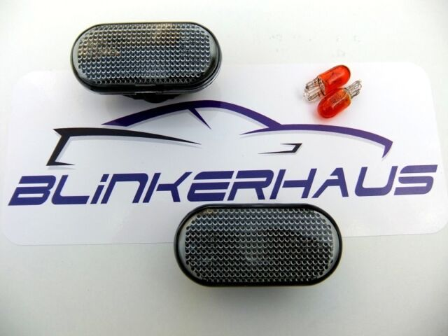 Nissan Micra Cube Dualis Pathfinder Navara 350Z SMOKED Side Indicators Repeaters