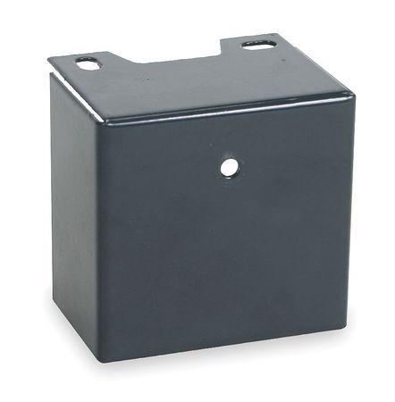 ZORO SELECT 3PFZ7 Capacitor Cover,Steel,1 11//16 High