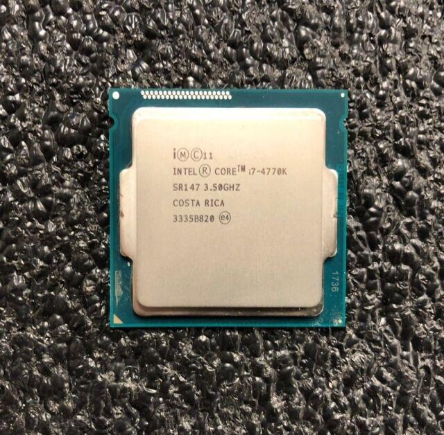 Intel Core i7-4770K 3.5GHz Quad-Core Desktop Processor